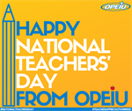 Happy National Teachers' Day!
